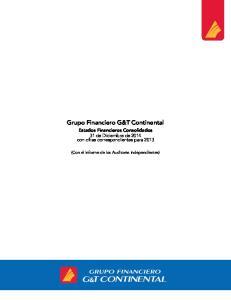 Grupo Financiero G&T Continental