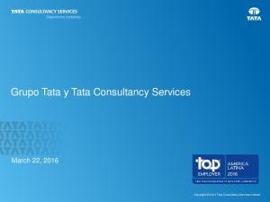 Grupo Tata y Tata Consultancy Services