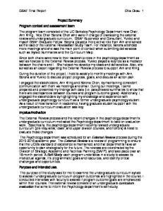 GSAF Final Report Chia Okwu 1