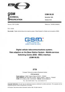 GSM GSM TECHNICAL December 1996 SPECIFICATION Version 5.0.0