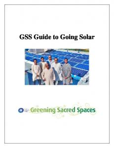 GSS Guide to Going Solar