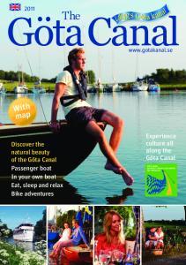 GötaCanal. The. Experience culture all along the Göta Canal