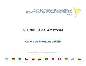 GTE del Eje del Amazonas