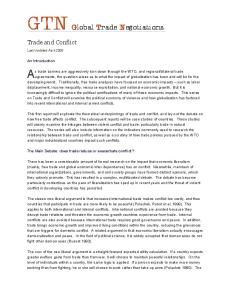 GTN Global Trade Negotiations