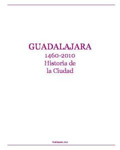 GUADALAJARA, Historia de la Ciudad