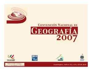 Guadalajara, Jalisco 18, y 19 y 20 de abril