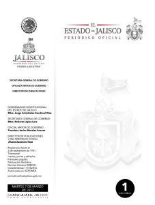 GUADALAJARA, JALISCO SECCIÓN III