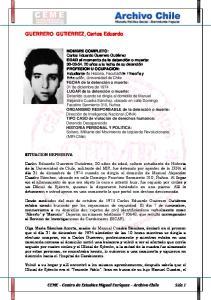 GUERRERO GUTIERREZ, Carlos Eduardo