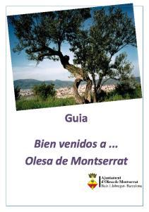 Guia. Bien venidos a... Olesa de Montserrat