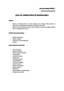 GUIA DE LABORATORIO DE GEOMECANICA