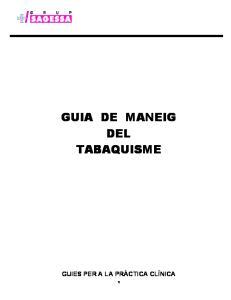 GUIA DE MANEIG DEL TABAQUISME