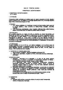 GUIA DE PRACTICA CLINICA HEMORRAGIA DIGESTIVA MASIVA