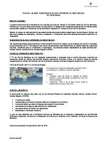 GUIA DEL USUARIO: SERVICIOS OFICIALES DE INSPECCIÓN EN FRONTERA (SIF) Port de Barcelona