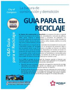 GUIA PARA EL RECICLAJE