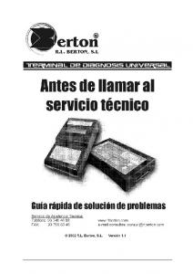 GUIA RAPIDA DE SOLUCION DE PROBLEMAS 1 GENERAL 1