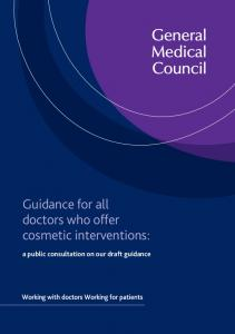 Guidance for all doctors who offer cosmetic interventions: