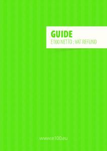 GUIDE E100 NETTO : VAT REFUND