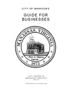 GUIDE FOR BUSINESSES