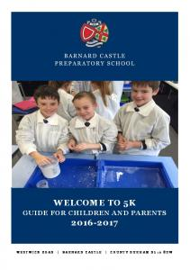 GUIDE FOR CHILDREN AND PARENTS