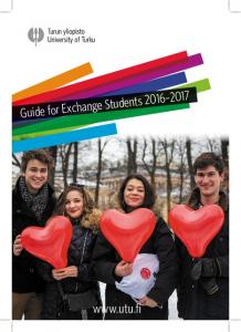 Guide for Exchange Students