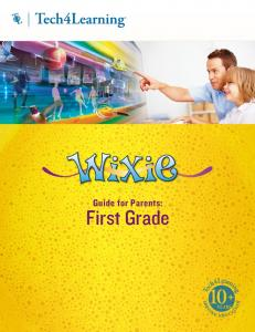 Guide for Parents: First Grade