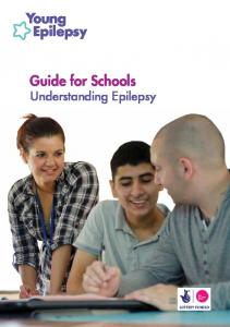 Guide for Schools Understanding Epilepsy