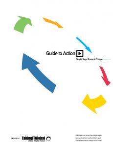 Guide to Action. Simple Steps Towards Change