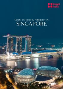 Guide to buying property in SINGAPORE