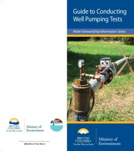 Guide to Conducting Well Pumping Tests