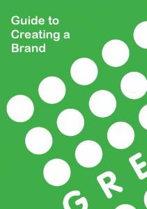 Guide to Creating a Brand