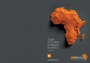 GUIDE TO DOING BUSINESS IN AFRICA