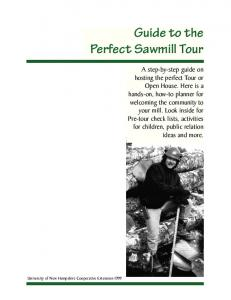 Guide to the Perfect Sawmill Tour