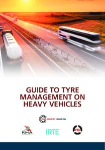GUIDE TO TYRE MANAGEMENT ON HEAVY VEHICLES
