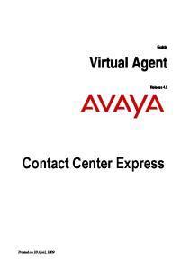 Guide. Virtual Agent. Release 4.0