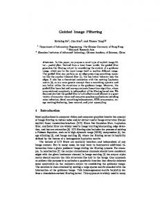 Guided Image Filtering