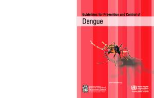 Guidelines for Prevention and Control of Dengue