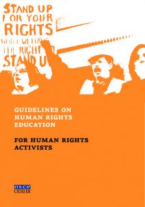 guidelines on human rights education for human rights activists