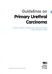 Guidelines on Primary Urethral Carcinoma