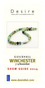 GUILDHALL WINCHESTER. 7-9 November SHOW GUIDE