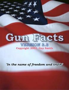 Gun Facts Version 3.2 Page 1