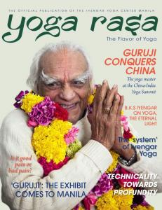 GURUJI CONQUERS CHINA The yoga master at the China-India Yoga Summit