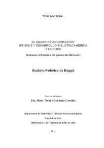 Gustavo Federico de Baggis