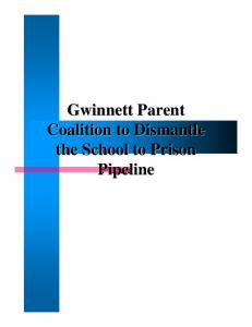 Gwinnett Parent Coalition to Dismantle the School to Prison Pipeline