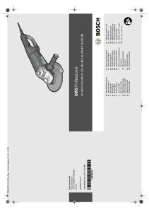 GWS Professional VX JVX JBV BV JBV. hr Originalne upute za rad. et Algupärane kasutusjuhend