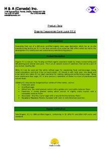 H & A (Canada) Inc Tapscott Road, Toronto, Ontario, Canada M1X 1E9 Tel: (416) Fax: (416)