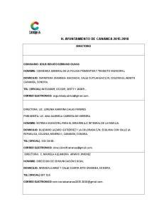 H. AYUNTAMIENTO DE CANANEA