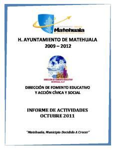 H. AYUNTAMIENTO DE MATEHUALA