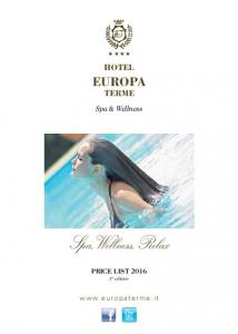 H H H H. Hotel. Spa & Wellness. Spa, Wellness, Relax. Price list st edition
