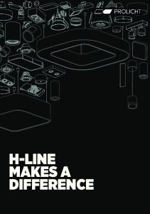 H-LINE MAKES A DIFFERENCE