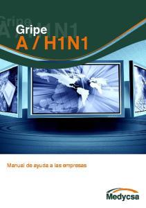 H1N1 Manual de ayuda a las empresas